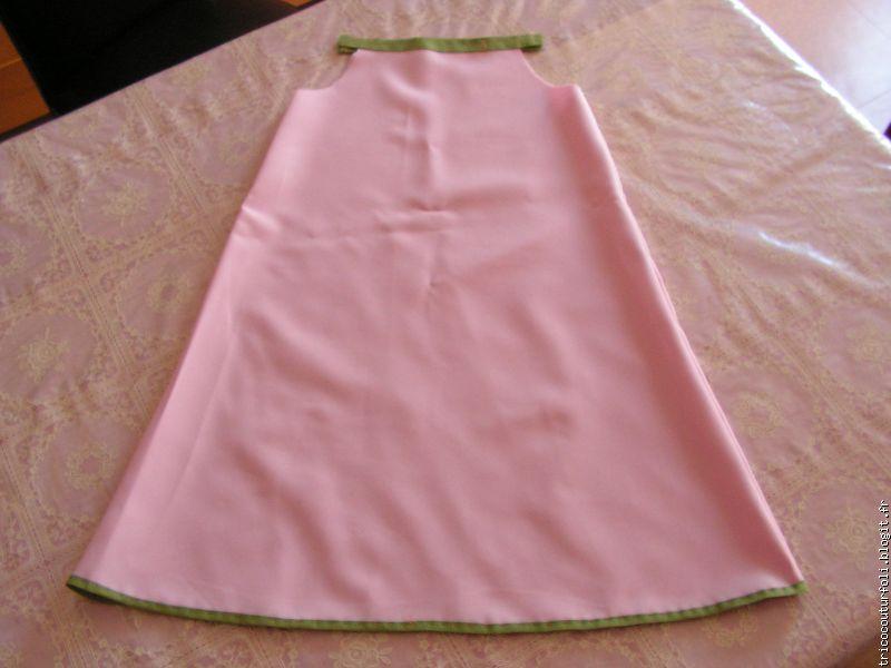 Couture robe tres facile
